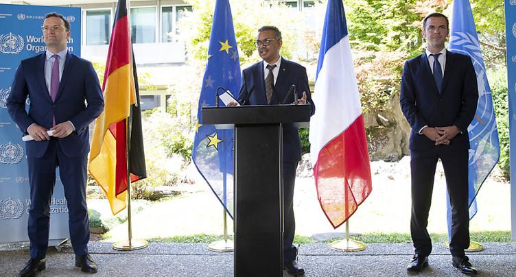 L'OMS appelle à être « réaliste » sur les « rechutes » de cas en Suisse