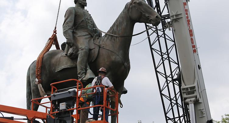Richmond, ex-capitale des confédérés, va retirer des monuments