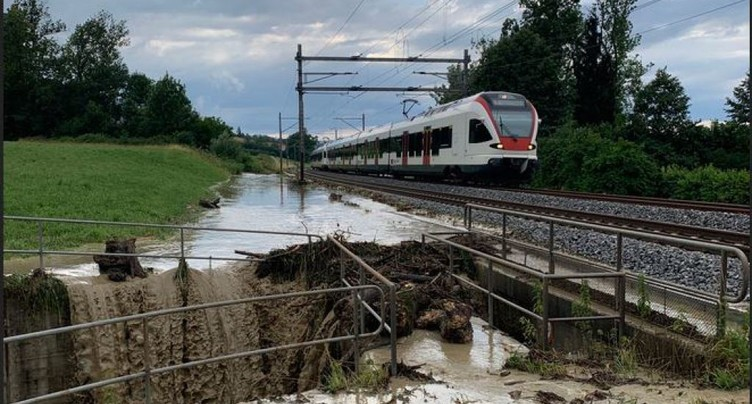 Orages: inondations et coulées de boue en terres lucernoises