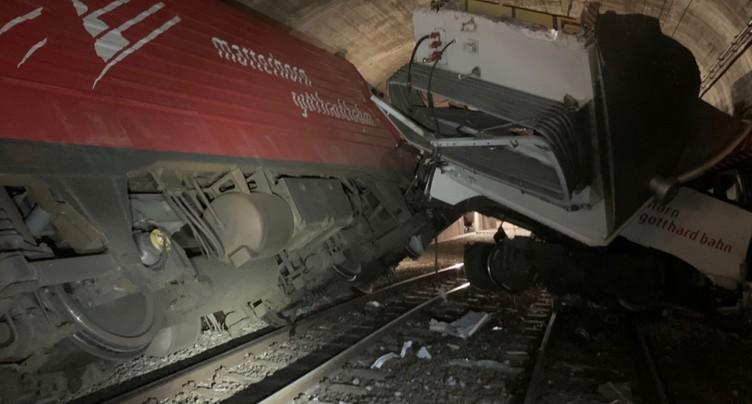 Collision entre deux trains dans la région d'Oberwald