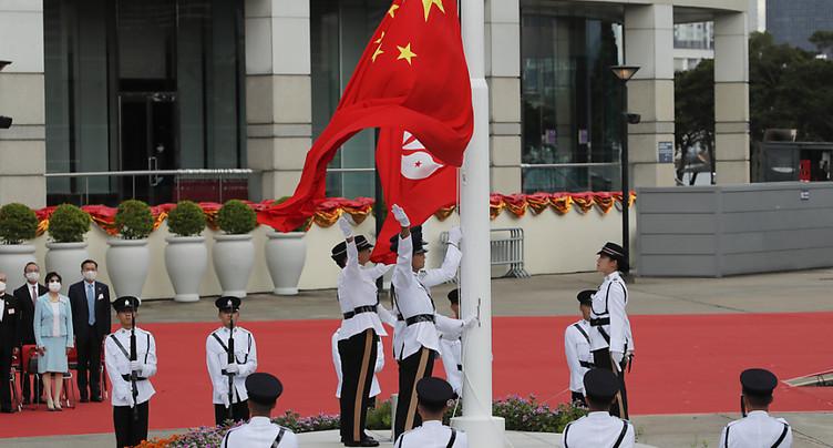La Chine nomme un dur responsable de la sécurité à Hong Kong