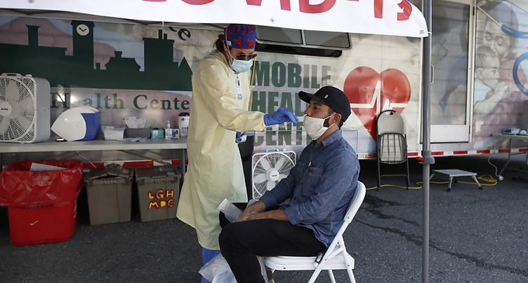 Plus de 43'000 nouveaux cas de Covid-19 en 24 heures aux Etats-Unis