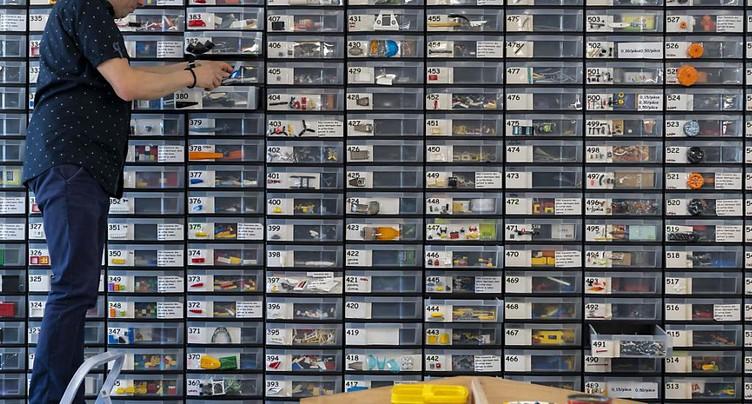 Le paradis des passionnés de Lego prend ses quartiers à Bulle (FR)