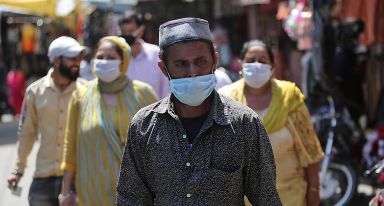 L'Inde fait face à une recrudescence de la pandémie
