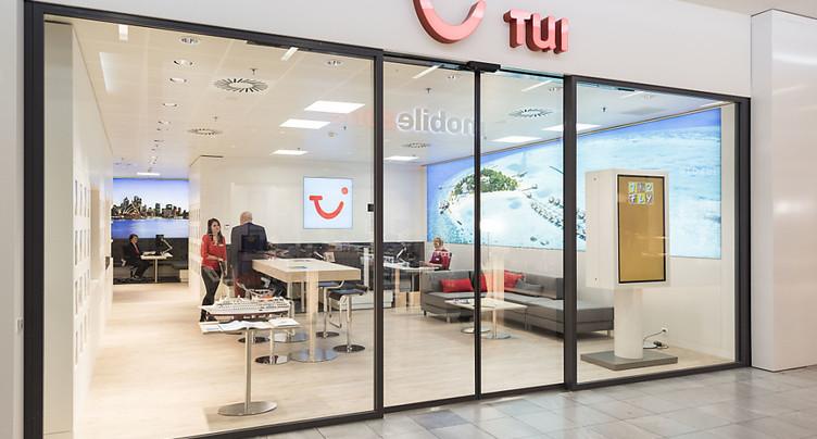 TUI Suisse ferme huit succursales, biffe une septantaine d'emplois
