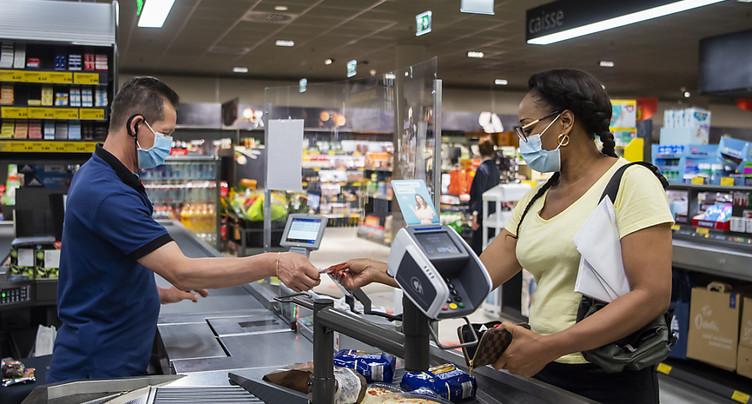 Le masque devient obligatoire dans les commerces vaudois