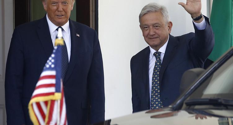 Donald Trump loue la « force » des liens entre Etats-Unis et Mexique