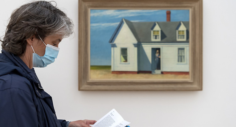 Exposition Edward Hopper prolongée à la Fondation Beyeler