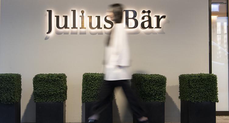 Julius Bär: une nouvelle unité dédiée aux investissements privés