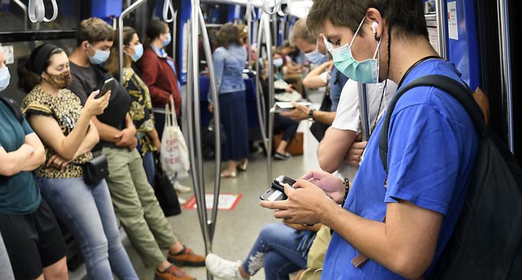 104 nouveaux cas de Covid-19 en 24 heures en Suisse