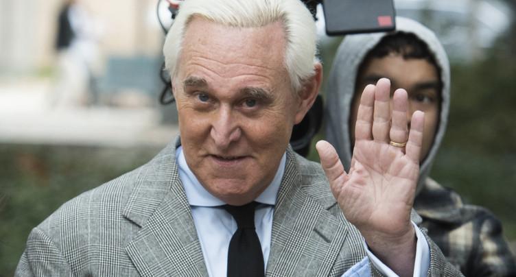 Trump commue la peine de prison de son ami Roger Stone