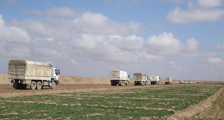 L'ONU réactive l'aide transfrontalière en Syrie en la réduisant