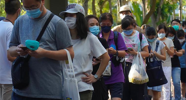 Un demi-million de personnes ont voté aux primaires pro-démocratie à Hong Kong
