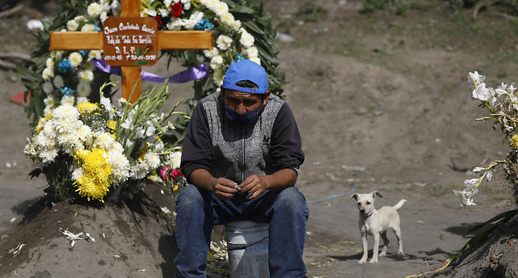 Le Mexique devient le 4e pays le plus endeuillé