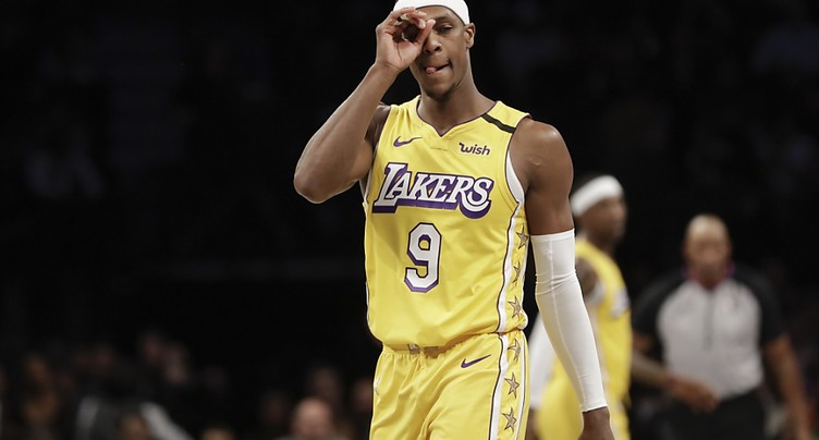 Rajon Rondo (Lakers) absent plusieurs semaines