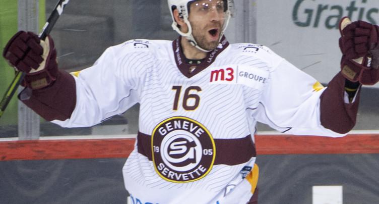 Eric Fehr prolonge à Genève-Servette