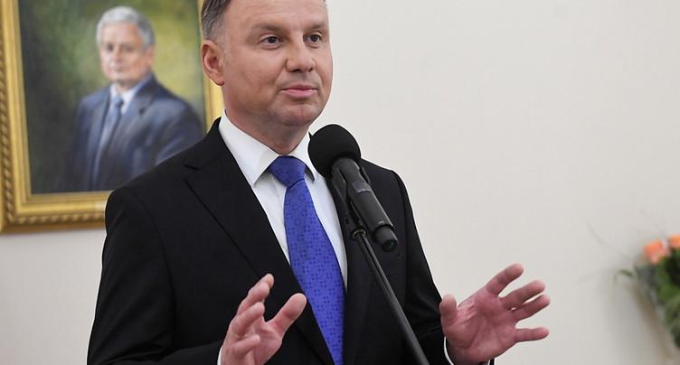 Le président Duda réélu en Pologne (officiel)