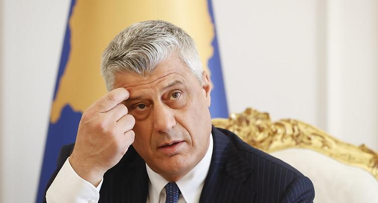 Le président du Kosovo à La Haye pour être entendu par la justice internationale