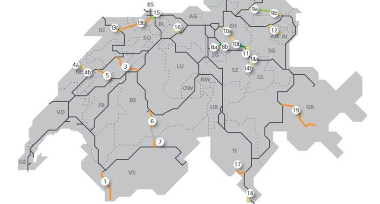 La Confédération investira 3 milliards dans ses « nouvelles » routes