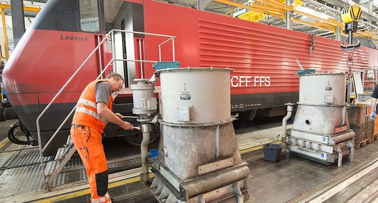 Extension d'un contrat de modernisation des CFF pour ABB