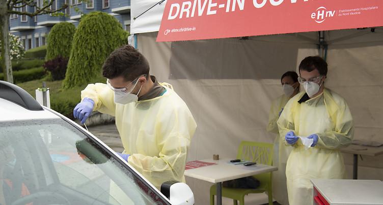 Septante nouveaux cas de Covid-19 en 24 heures en Suisse