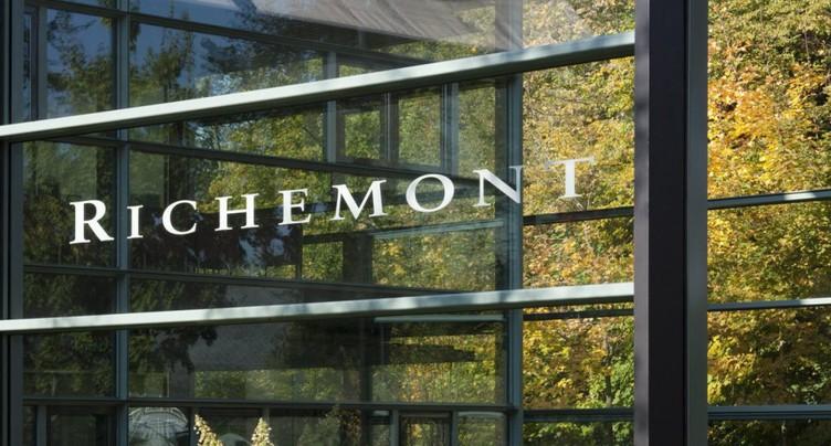 Richemont: ventes amputées de près de moitié au premier trimestre