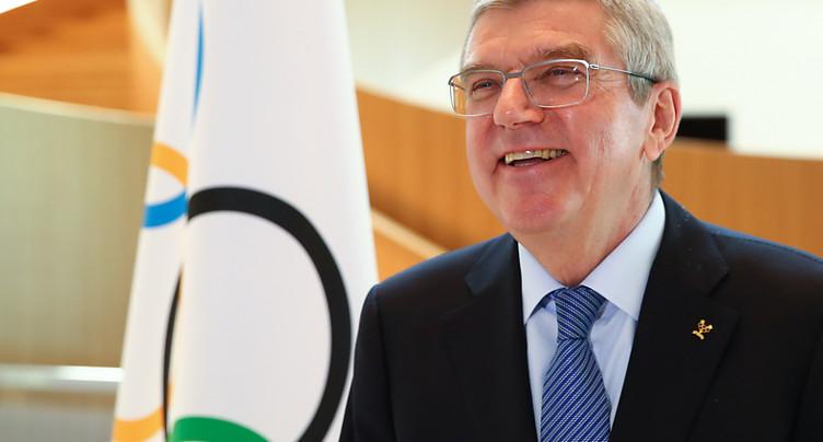 Le patron du CIO se refuse à l'éventualité de Jeux à huis clos