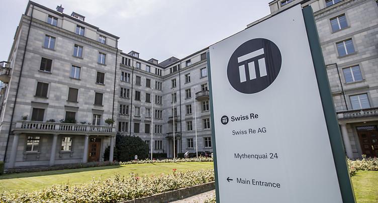 Swiss Re confirme sa lourde perte au 1er semestre