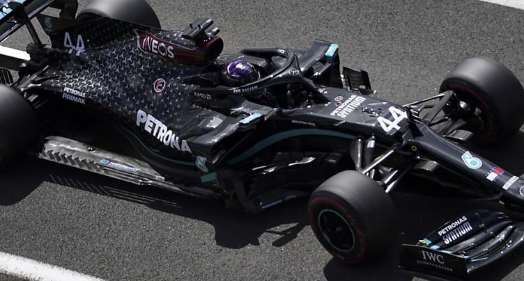 GP de Grande-Bretagne: Hamilton et Bottas en première ligne