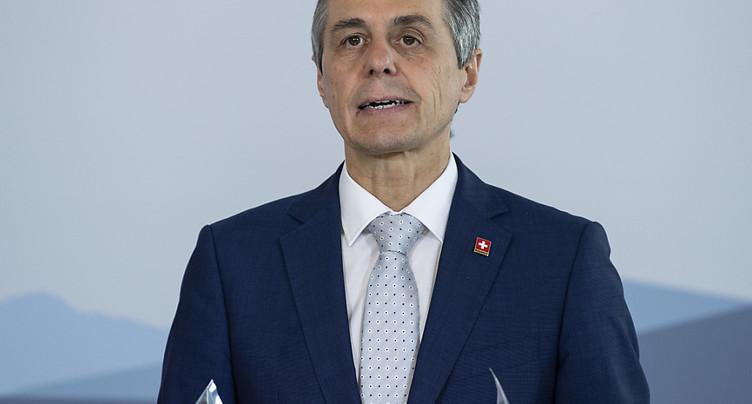 Cassis veut une Suisse plus sûre d'elle face à la Chine