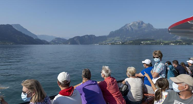 Recul de la fréquentation sur les lacs de Bienne et de Neuchâtel