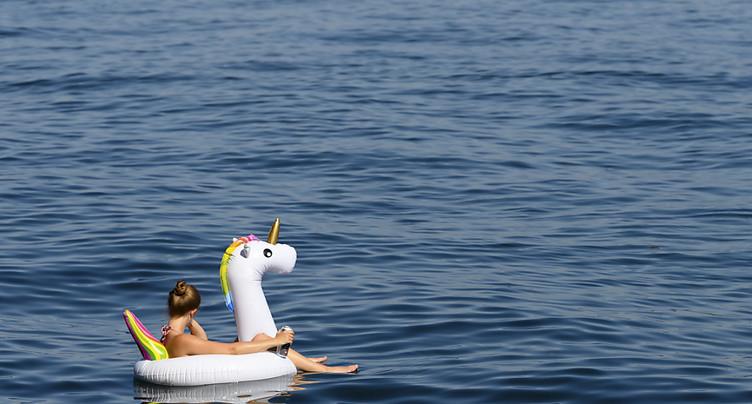 Lac de Neuchâtel: baignade toujours interdite ou déconseillée