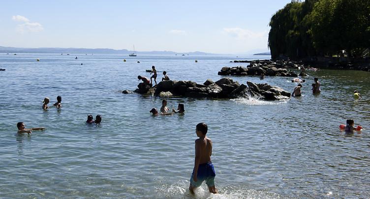 Cyanobactéries: baignade à nouveau autorisée à Neuchâtel