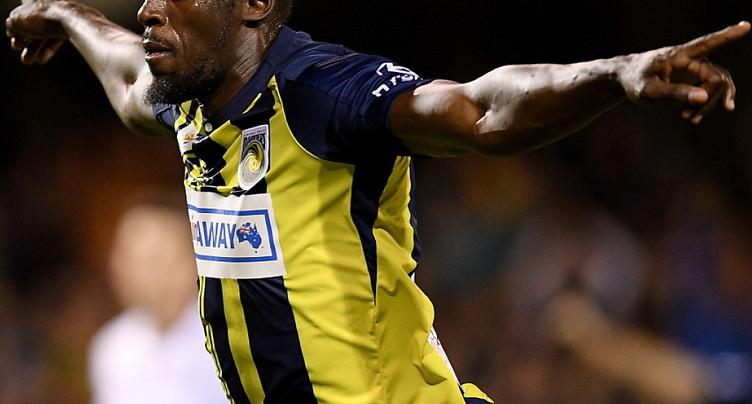 Bolt estime n'avoir pas eu « une chance équitable »  dans le foot