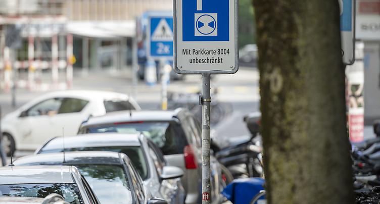 Moins cher de se garer en Suisse romande
