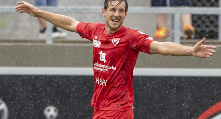 Vaduz prend une option sur la promotion