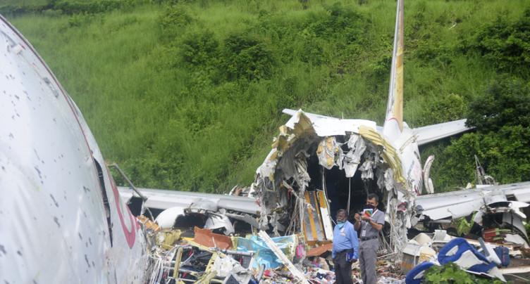 Accident d'avion en Inde: 18 morts et plus de 120 blessés