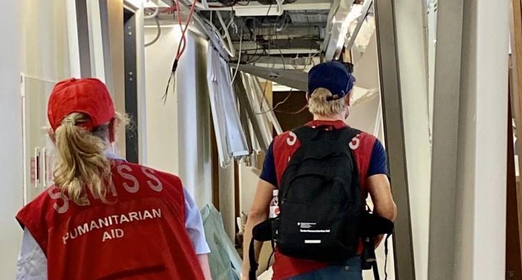 La Suisse envoie une deuxième équipe d'experts au Liban