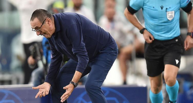« Adieu Maurizio », ça chauffe pour Sarri à la Juve