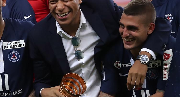 Le PSG est arrivé au Portugal avec Mbappé