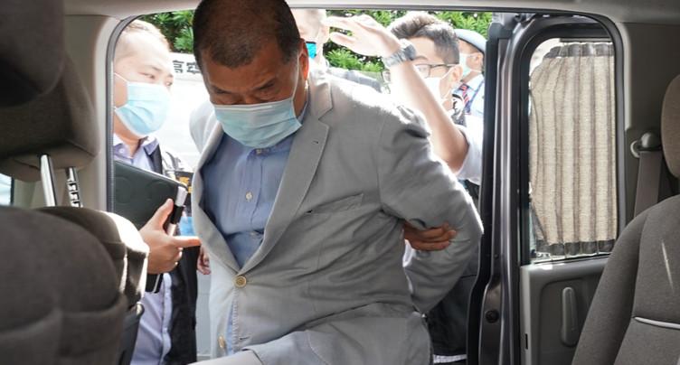 Le patron de presse Jimmy Lai arrêté à Hong Kong