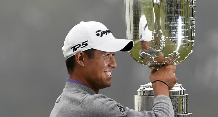Collin Morikawa triomphe pour sa première participation