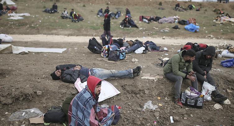Les demandes d'asile ont baissé de 60%