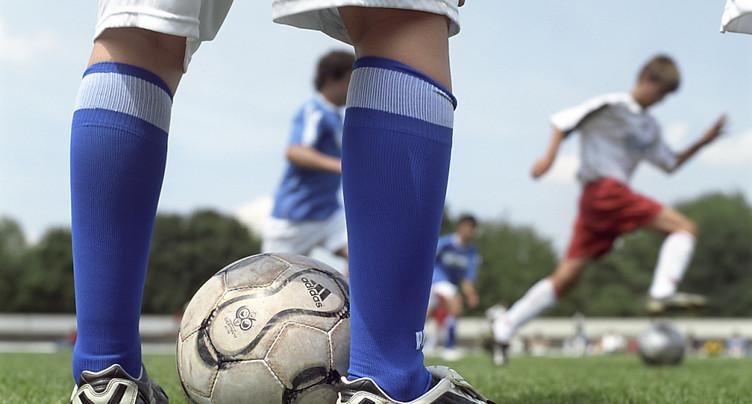 Le football provoque 45'000 accidents par année