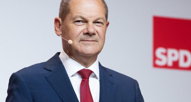 Allemagne: le ministre des Finances candidat des sociaux-démocrates à la chancellerie