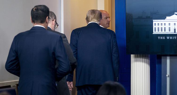 Le Secret Service tire sur une personne devant la Maison-Blanche