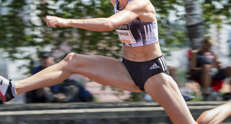 Lea Sprunger en lice sur 400 m haies à La Tchaux