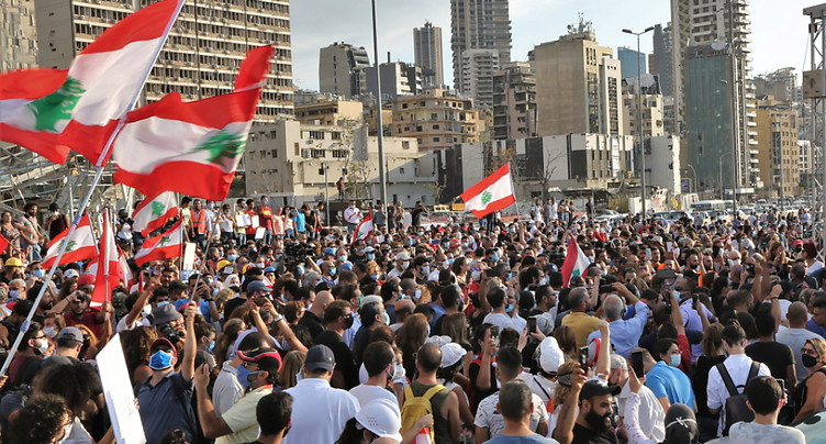 Beyrouth marque la minute dans laquelle elle a basculé dans l'enfer