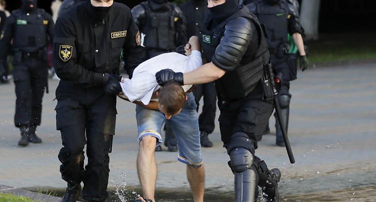 Le DFAE s'occupe d'un citoyen suisse arrêté à Minsk