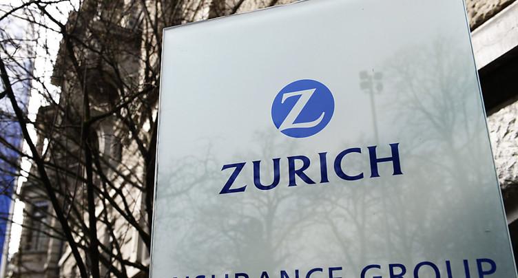 Le coronavirus a plombé Zurich Insurance au premier semestre